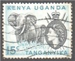 Kenya, Uganda and Tanganyika Scott 105 Used
